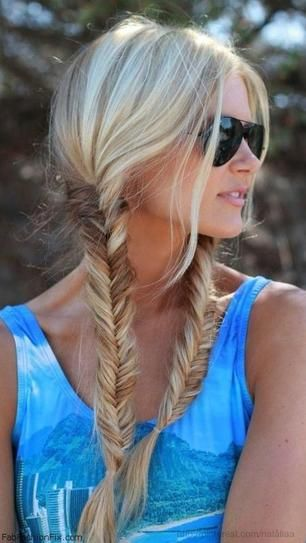 Fishtail Braids for Summer