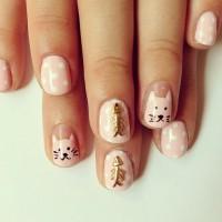 Funny Cat Nails