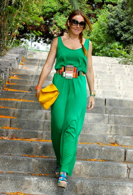 Green Jumpsuit for Women