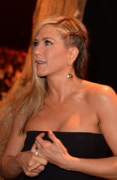 Jennifer Aniston Long Braided Hairstyle
