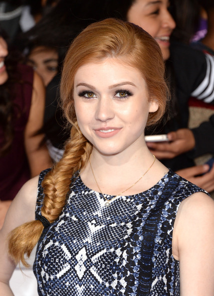 Katherine McNamara Long Braided Hairstyle
