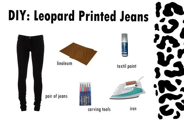 Leopard Jeans