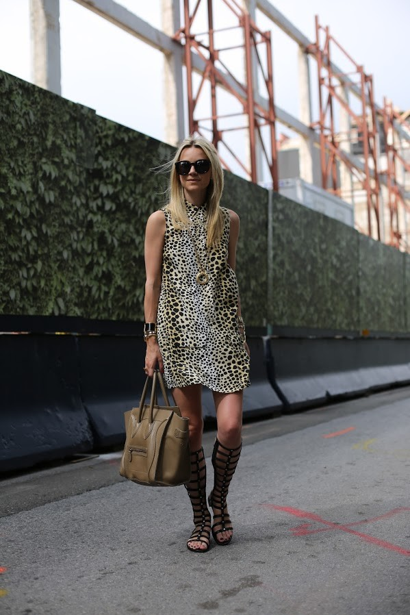 Leopard Printed Outfit Idea for Summer