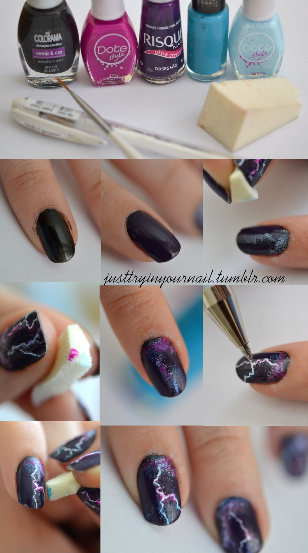Contemporary Nail Tutorials Gallery - Nail Art Ideas - morihati.com