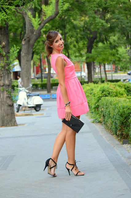Little Pink Cocktail Dress