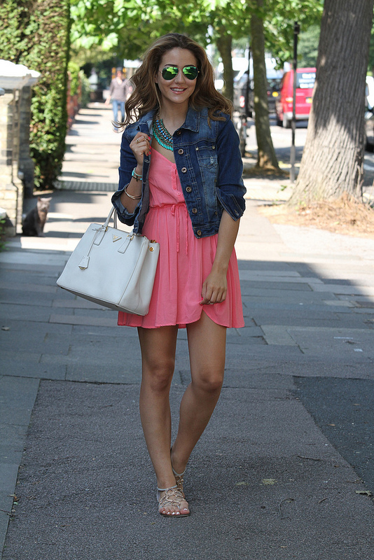 Little Pink Shirt Dress