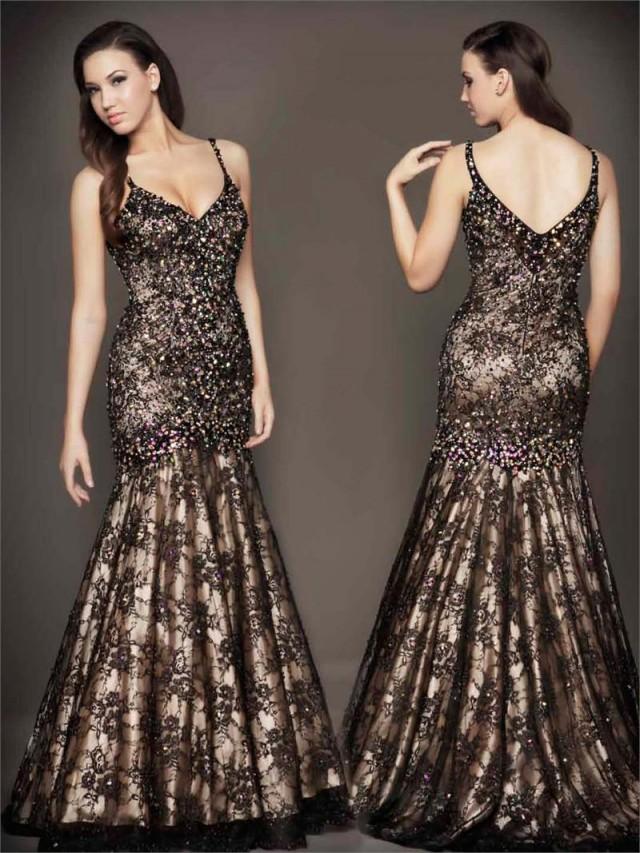 Mac Duggal Black Evening Dress