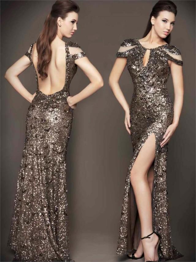 Mac Duggal Sequined Dress