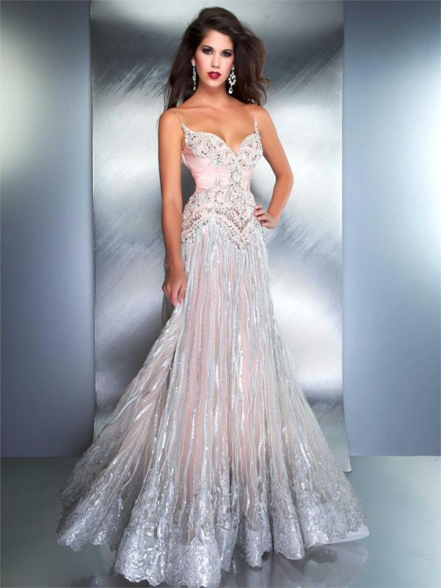 Pretty Evening Dresses - Plus Size Prom Dresses