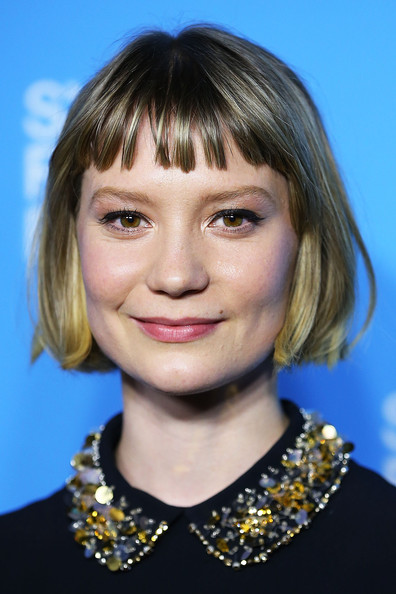 Mia Wasikowska Youthful Short Bob