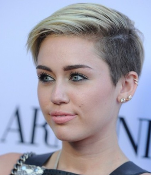 Miley Cyrus Swept Sides