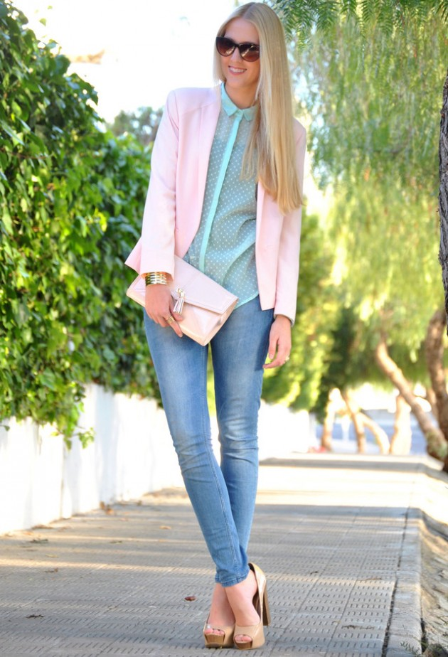 Mint Outfit Ideas - Mint Blouse