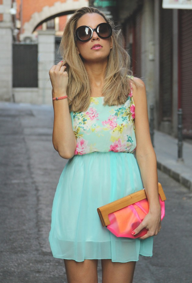 Mint Outfit Ideas - Mint Day Dress