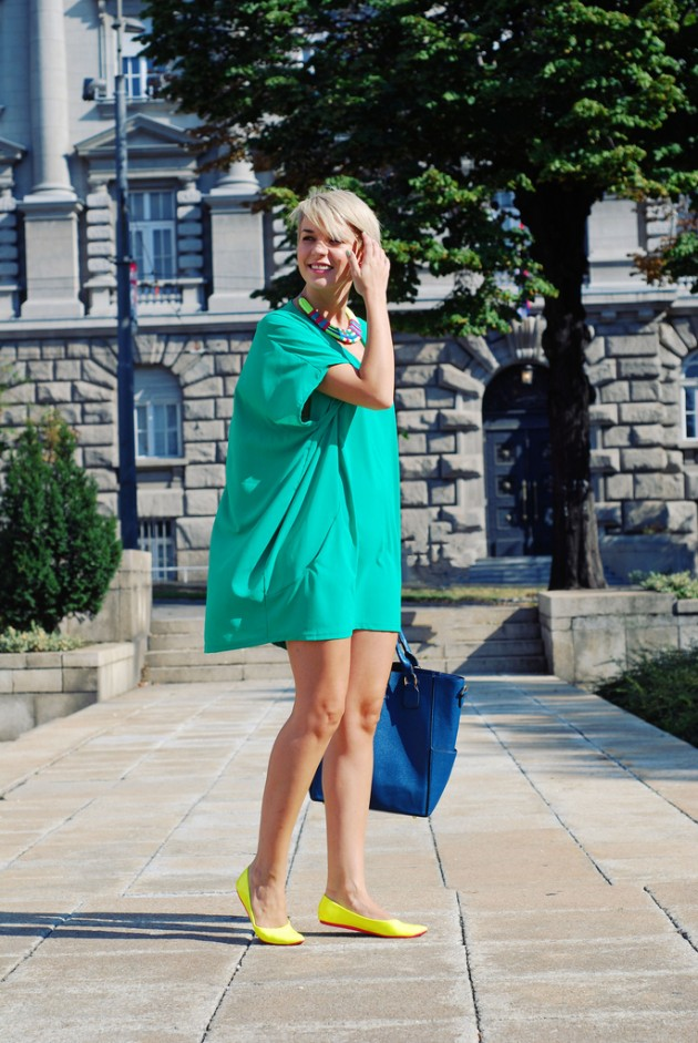 Mint Outfit Ideas - Mint Dress