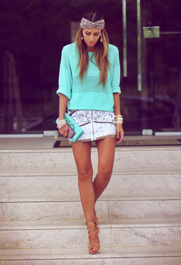 Mint Outfit Ideas - Mint Top