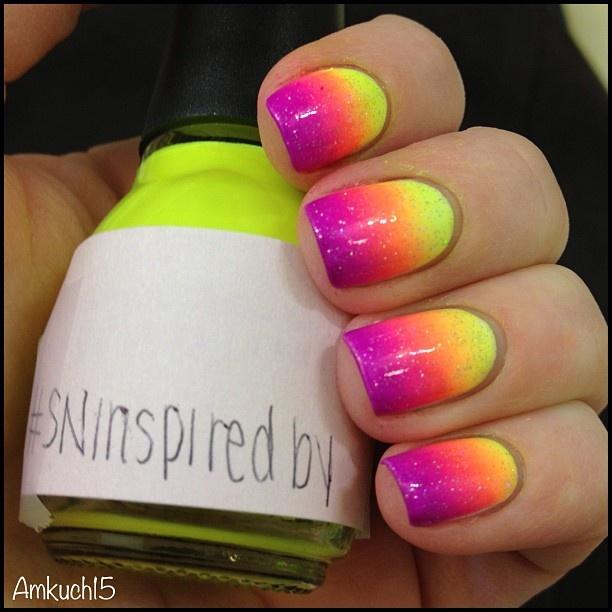 15 Stunning Neon Nail Designs To Rock Pretty Designs