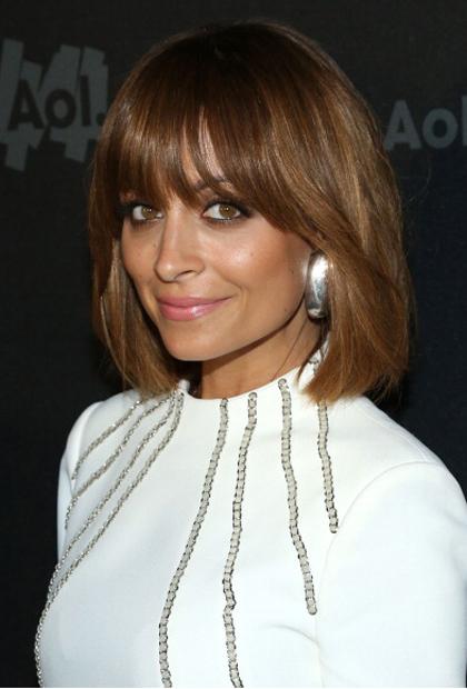Nicole Richie's Airy Bangs