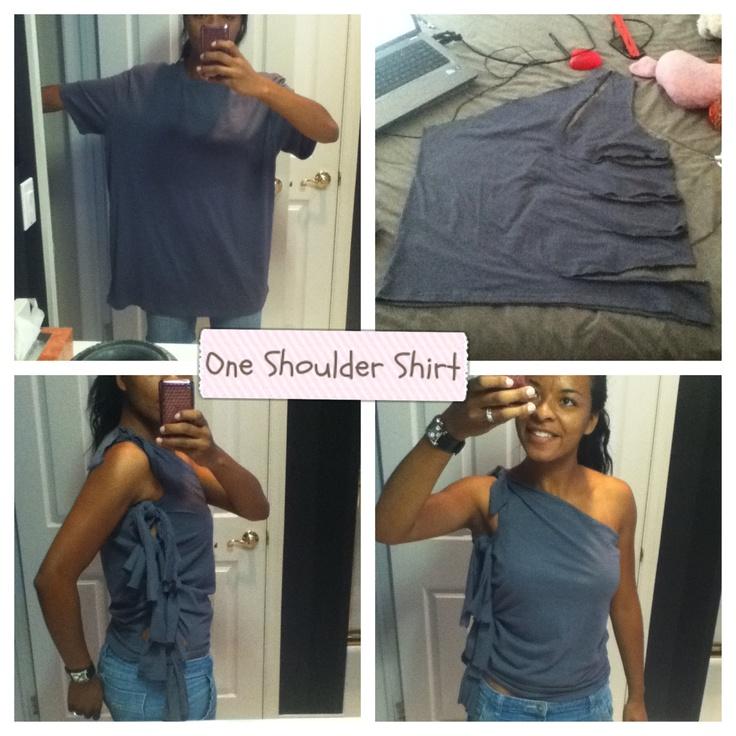 Diy Ideas T Shirt Makeovers Pretty Designs
