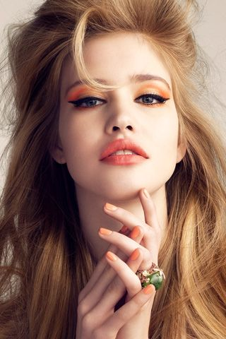 Orange Makeup Idea