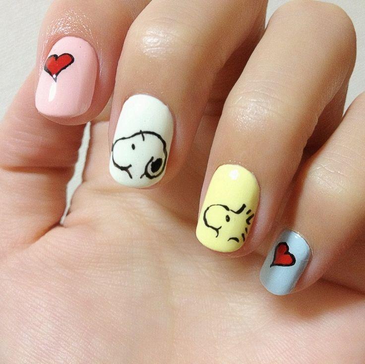 Nails to Try: Cartoon Nail Ideas - Pretty Designs