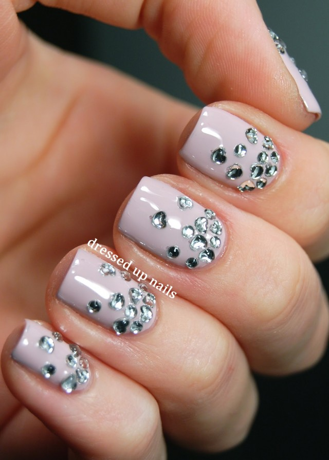 Pastel Nails - 16 Pretty Gem Nail Designs You Won't Miss - Pretty Designs