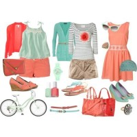 Pastel Outfit Idea for Summer