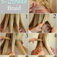 Perfect Five Strand Braid