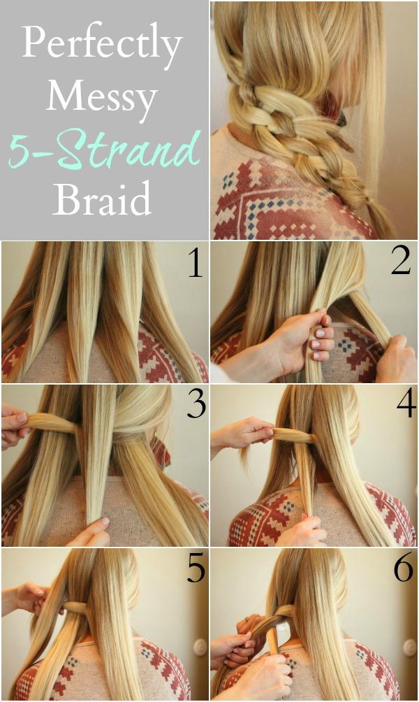 Perfect Five Strand Braid