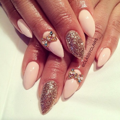 Pink Nails for Classy Nail Designs