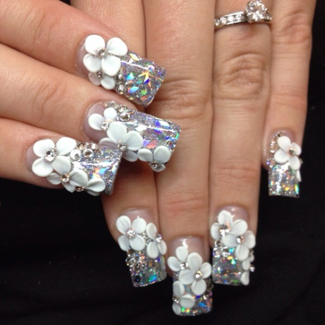 21 Ultra Beautiful 3d Nail Arts For The Week Pretty Designs