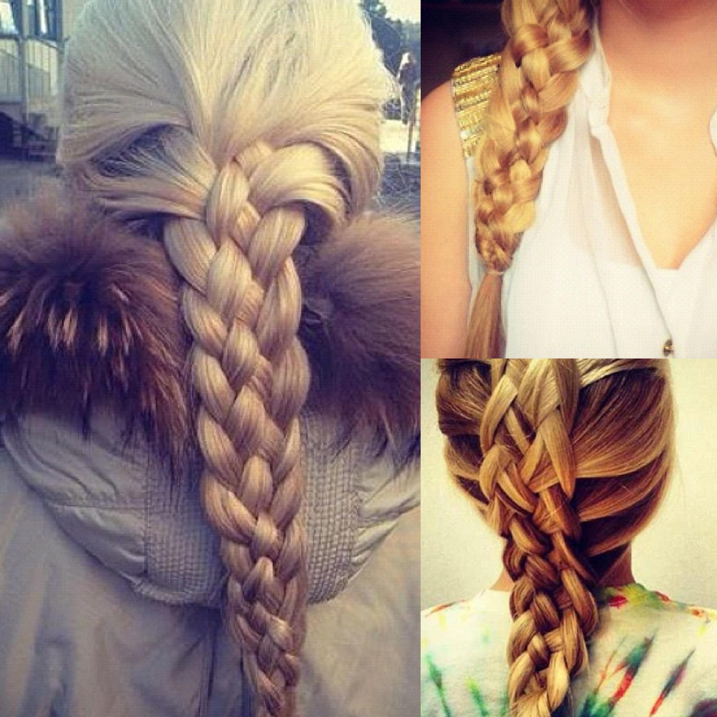 Hair Tutorials To Try: Five Strand Braids