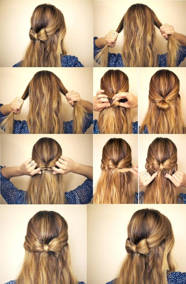 Stylish Hair Bow Tutorials and Ideas - Pretty Designs