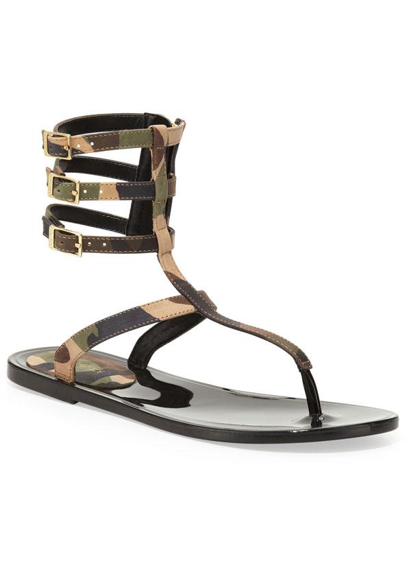 RACHEL ZOE Gladiator Sandals
