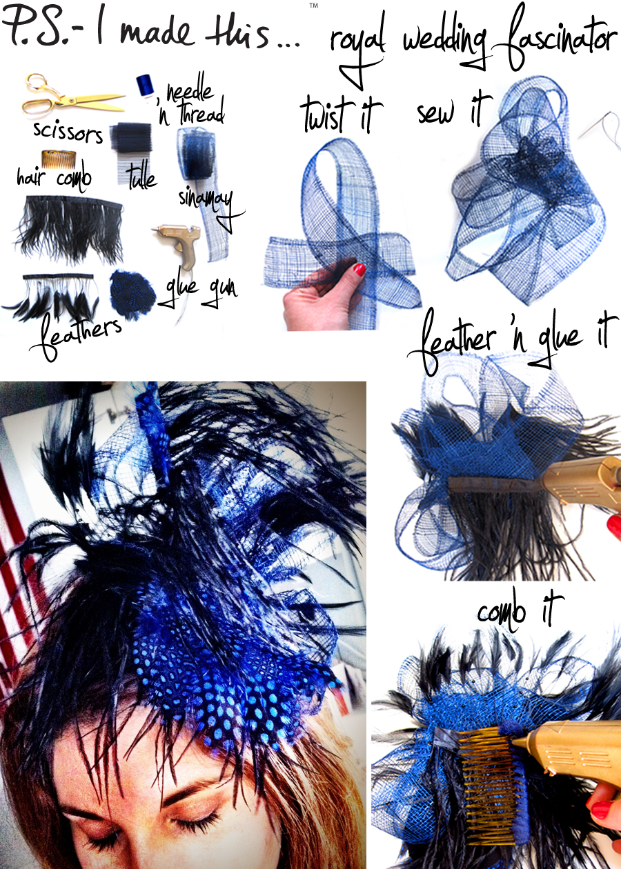 ROYAL WEDDING FASCINATOR
