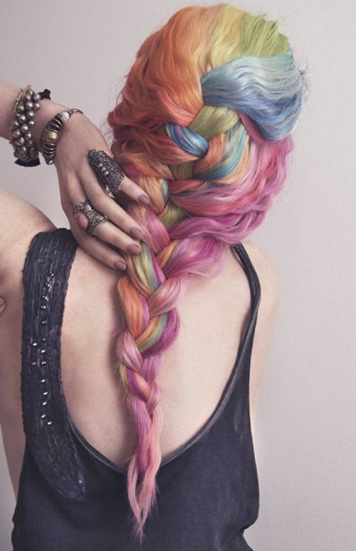 Rainbow Hair Colors for 2014
