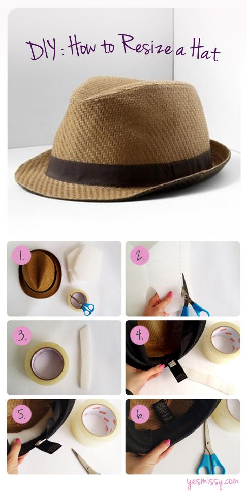 DIY: Spice up You Straw Hats for Summer