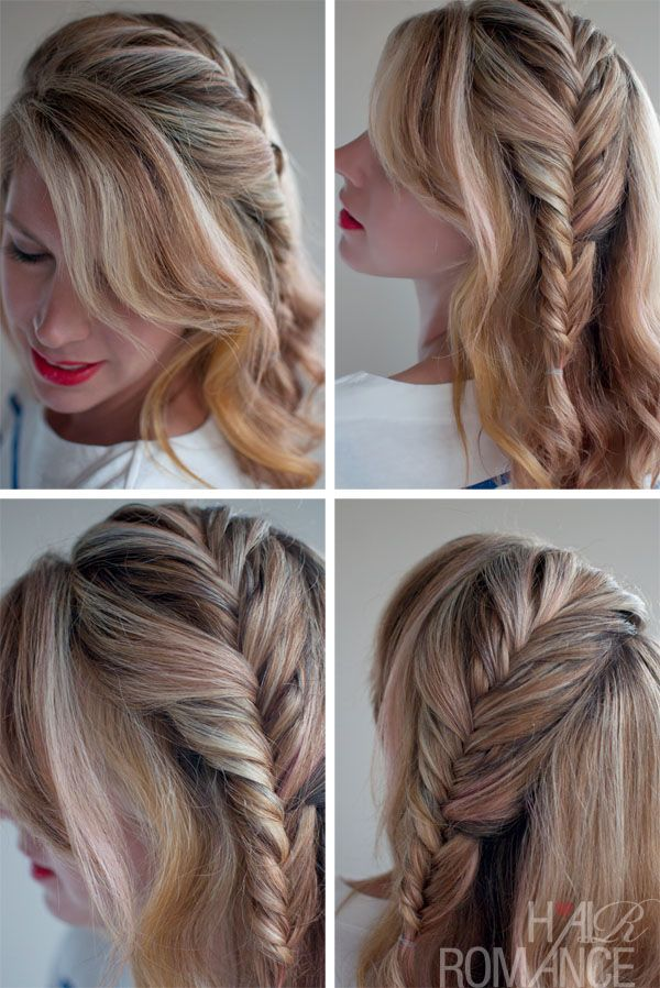 Romantic Fishtail Hairstyle