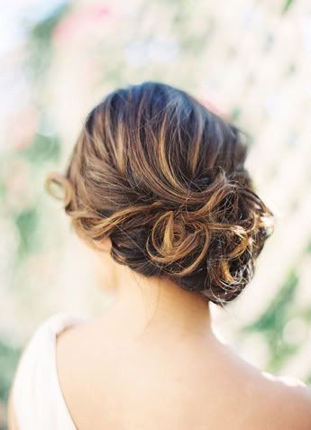 Romantic Side-swept Hairstyle