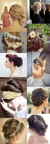 Romantic Updo Hairstyle for Weddings and Holidays
