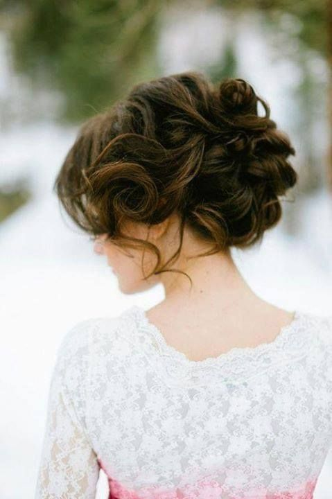 Romantic Wavy Hairstyle