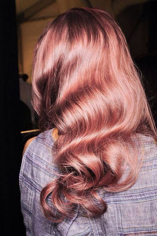 Rose Gold Curls