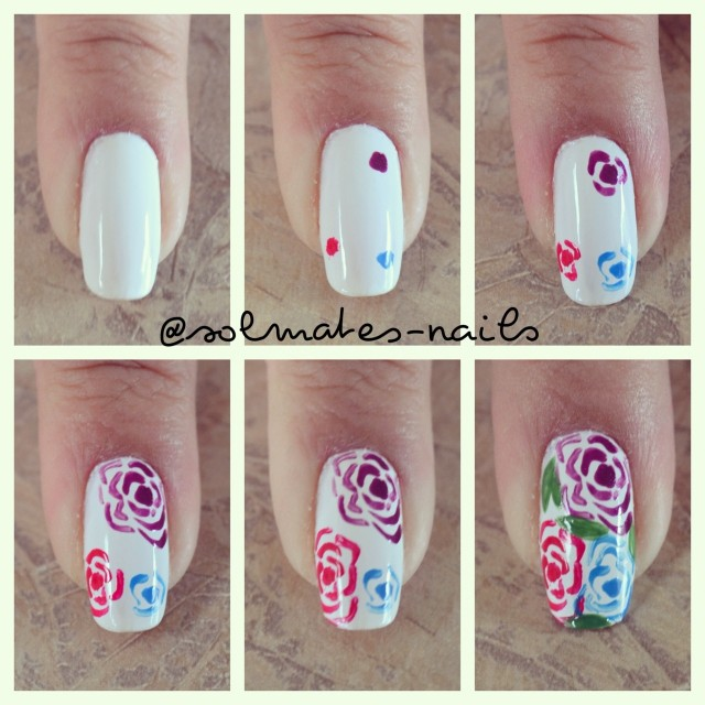 Flower Nail Art Tutorial: 15 Ultra-easy Nail Tutorials For Every Woman To Try