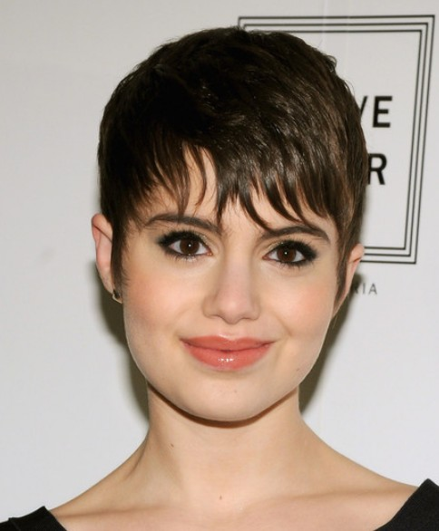 Sami Gayle Pixie with Wispy Bangs