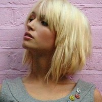 Short Layered Bob for Blonde Hair