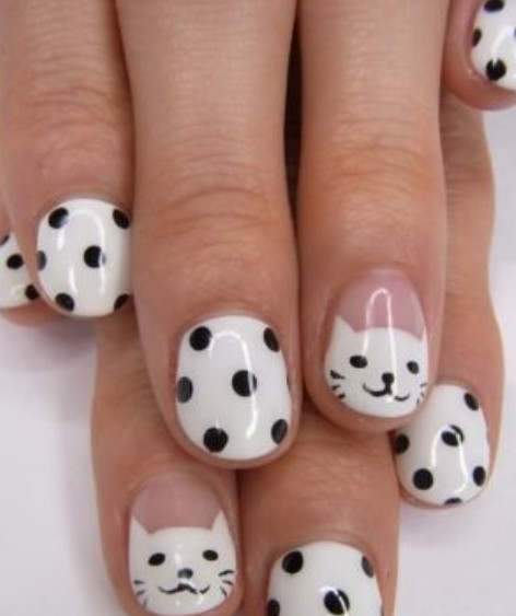 Simple Cat Nails