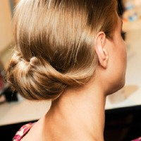 Simple Loose Bun Hairstyle