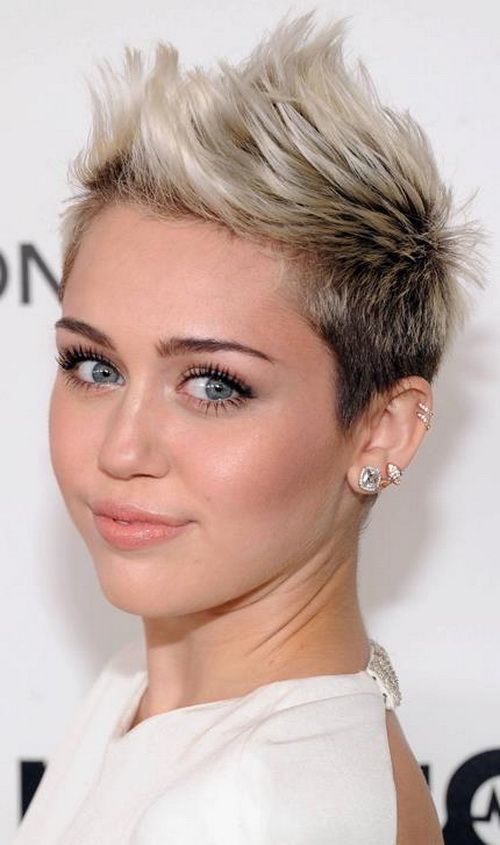 Spike Short Hairstyle for Women