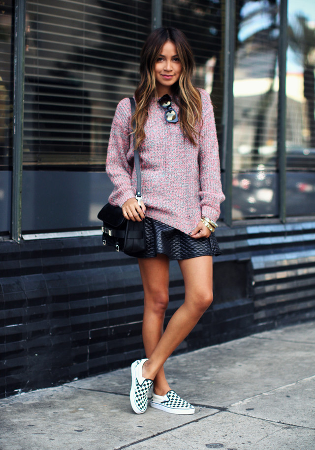 Spring Outfit Idea with Slip-on Shoes