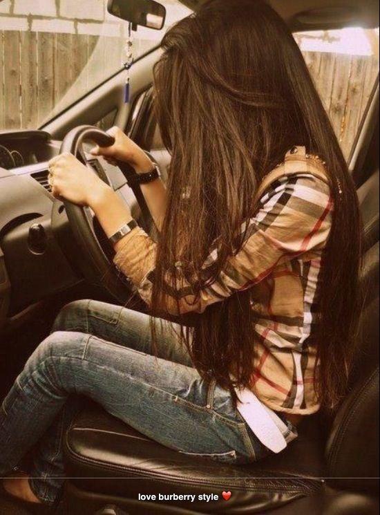 Straight Brown Long Hair