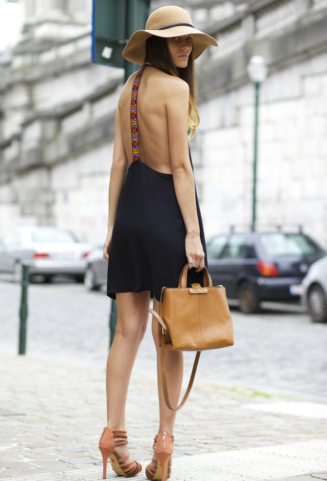 Street Style Dresses - Back Interest Dress